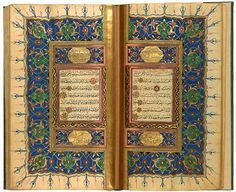 Turkish Qur˒an by Pashāzāde | Turkish Qur˒an | The Morgan Library & Museum-Pashāzāde Turkish Qur˒an by Pashāzāde Qur˒an, in Arabic Turkey, probably Istanbul 1832–33 On paper 158 x 95 mm Purchased by Morgan before 1913; bequest of Belle da Costa Greene, 1950 MS M.835, fols. 2v–3r