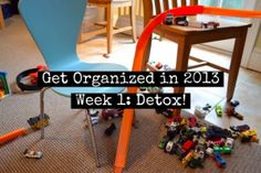 A fun, 4-week challenge I'm doing with @BabyCenter - 10 min/day = totally organized in 31 days. :) Week 1 is all about the clutter detox...