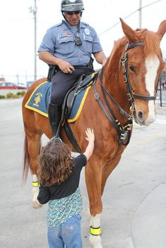 Kansas City Missouri Police Department- Mounted Patrol  Unit- #horses