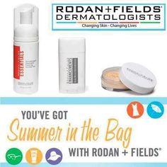 Summer ready. Summer skincare