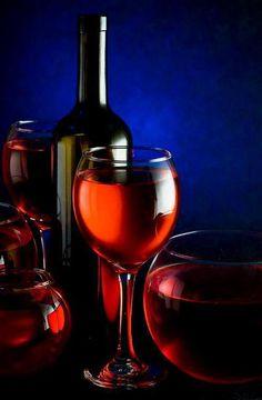 ♂ Wine, blue, Red