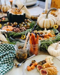 Make your own Harvest Tray with canned goodness from the year and Ball Canning. Caramel Pears, Ball Canning Jars, Pear Butter, Pumpkin Hummus, Root Veggies, Red Beets, Fresh Figs, Seasonal Food, Acorn Squash