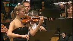 Antonin Dvorak: Romance for Violin and Orchestra performed by Tanja Sonc - YouTube