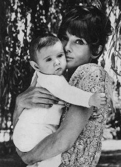 Audrey Hepburn and son Luca