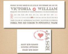 Printable Custom Wedding Invitation Country by SomethingModern, $27.50