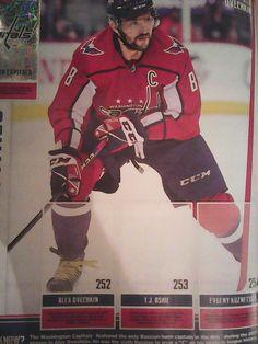 Alex Ovechkin, Washington Capitals, Nhl, Baseball Cards, Sports, Hs Sports, Sport