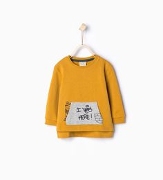 Graffiti organic cotton sweatshirt