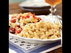 Light Macaroni and Cheese Recipe - #HEALTHYRECIPE #healthy #lowfat #lowcalorie #diet #cookinglight #MyBSisBoss