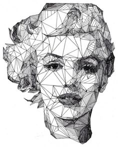 Triangulation: Angular Celebrities Drawn with a Pen