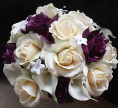 plum wedding color | ... plum colored flowers changed to the lilac color that is in the BM's