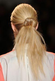 Blonde Hairstyles 2014 Runway Hair Ideas runway