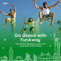 International expansion of your #travelactivitybusiness is much easier with FunAway. Our travel activity marketplace #script comes with inbuilt multicurrency feature, allowing you to list vendors & cater travelers from different regions. http://www.fatbit.com/online-travel-activity-marketplace-solution.html  #TravelWebsiteBuilder #TravelActivityBooking