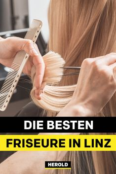 Linz Tipps Regardless of whether you are looking for the top color specialist or just a really good hairdresser: We present the best Linz hairdressing. Photoshop Design, Eyebrows, Benefit, Best Hairdresser, Dry Scalp, Top Colour, Color, Good Things, Salons