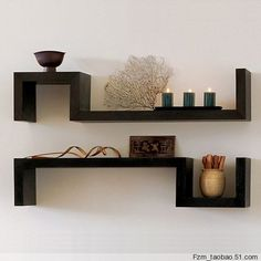 wall shelving - Google Search