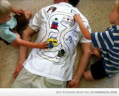 How To Get The Kids To Give You A Massage - Damn! LOL