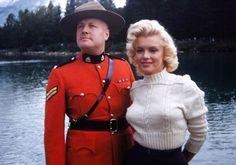 Soldier & Marilyn Monroe
