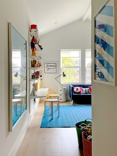 Wall Storage Is the Unsung Hero of This Family's Toy-Filled Playroom