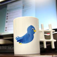 Twitter Styled Tweet Mug With Hashtag Handle