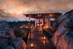 Tree House Resorts - Returning to nature is proving to not only be ecologically smart, but business smart too. The luxury chain Club Med commissioned Edouard Francois t...