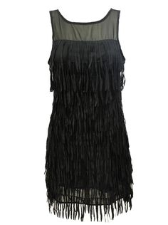 DIY: How to Make a Flapper Dress From an Existing Dress Circa 1920's