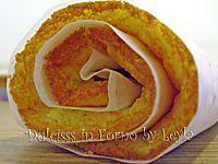 Rotolo di pan di spagna   ricetta base   Dulcisss in forno