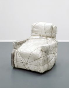 Christo style- wrap furniture