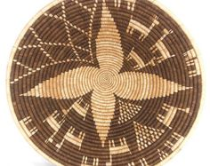 Botswana Basket Bowl Shaped Nelson Collection African 53335