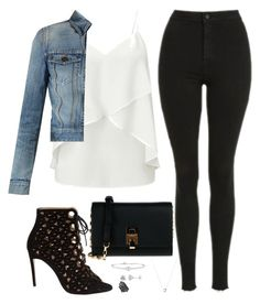"""Untitled #238"" by bellaxoxx on Polyvore featuring Topshop, Miss Selfridge, Yves Saint Laurent, Bionda Castana, Michael Kors, Links of London, Rina Limor and nOir"