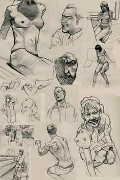 Keep A Sketchbook And Have Fun - Drawing On Demand Sketch Painting, Drawing Sketches, Pencil Drawings, Art Drawings, Figure Sketching, Figure Drawing, Drawing Reference, Anatomy Drawing, Sketch Design
