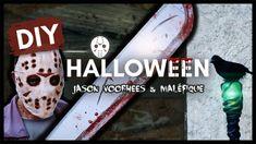 DIY HALLOWEEN 2020 : JASON VOORHEES & MALÉFIQUE avec DREMEL Dremel 3000, Diy Halloween Room, Halloween 2020, Jason Voorhees, Diy Francais, Diy Accessoires, Decoration, Halloween Decorating Ideas, Dekoration