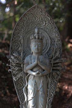 Kannon Bodhisattva Statue, Shoshasan Mountain, Japan (by Luke Robinson)