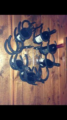 8 Bottle Wine Rack (wall mount)