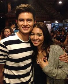 """""""The COUPLE of the year! James Reid Wallpaper, Good Vibe, Nadine Lustre, Love U So Much, Partners In Crime, Just Friends, Looking For Love, Couples In Love, Celebs"""