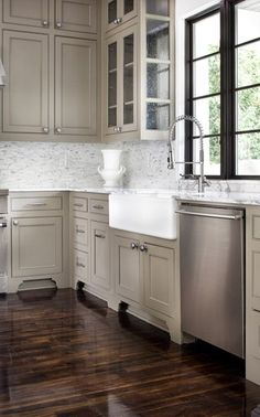 this is the color kitchen cabinets I want!!!!   followpics.co