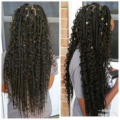Small Box Braids Hairstyles, Faux Locs Hairstyles, Natural Hair Braids, Twist Braid Hairstyles, Black Girl Braids, Braided Hairstyles For Black Women, African Braids Hairstyles, Girls Braids, Twist Braids