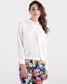 White Havelock Shirt