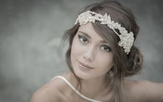 WHITE LILY | bridal couture headpieces-diadem hårsmycken