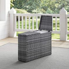 51 Outdoor Side Tables That Will Add Convenience To Your Outdoor Experience Wicker Side Table, Outdoor Side Table, Outdoor Seating, Outdoor Decor, Wicker Furniture, Outdoor Furniture, City Furniture, Side Tables For Sale, Outdoor Entertaining