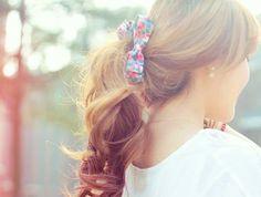 ponytail!<3