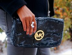 Love my Michael Kors clutch see more at  stylemydreams.wordpress.com #ootd #clutchs
