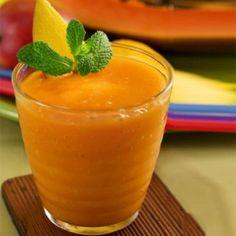 Papaya Ginger Juice