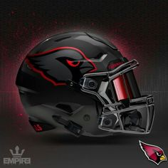 Arizona Cardinals concept helmet 2016 More Seahawks Jimmy Graham 88 jersey Football Helmet Design, College Football Helmets, Sports Helmet, Nfl Football Teams, Football Uniforms, Custom Football, Football Memes, Football Stuff, Louisville Football