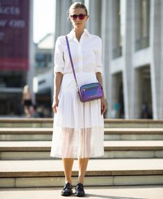 A Day-Off Outfit Inspired By NYFW Street Style | The Zoe Report