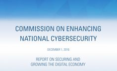 DDoS IoT Top Cybersecurity Priorities for 45th President
