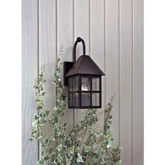 """Townsend Collection Solid Brass 14 1/2"""" High Outdoor Light Style # 89888 Solid brass construction and versatile design makes this series of outdoor lights from MinkaLavery a great way to accent a home's exterior.  lamps plus $174.20 + FREE SHIPPING & FREE RETURNS*"""