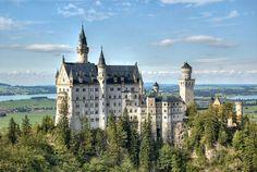Самый красивый замок. - Yuterra Colors