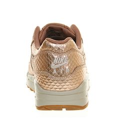 new products 852f8 e57e9 Nike Air Max 1 (l) Metallic Bronze Cut Out - Hers trainers Nike Heels