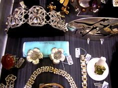 Gorgeous vintage estate and vintage designer jewels at the May 2-4, 2014 - www.modernvintagechicago.com