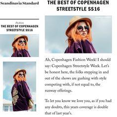 Neila Romeissa portant la cape Zamane Rajicollections pendant la fashion week de Copenhague - Scandinavia Standard