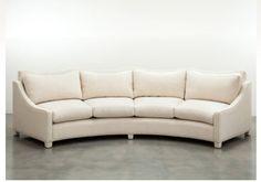 Shine By Sho curved sofa